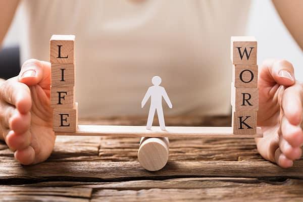 Unser Benefits: Gute Work-Life Balance