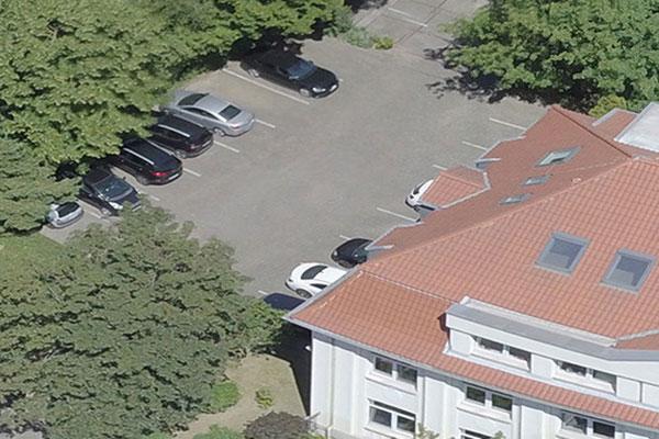 Unsere Parkmöglichkeiten vor der Kanzlei